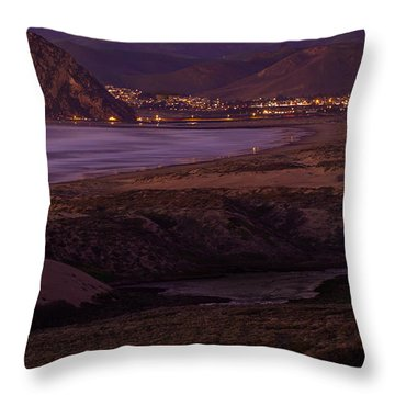 The Guardian--- Morro Bay Throw Pillow