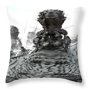 The Guardians Throw Pillow by Arlene Sundby