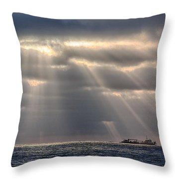 The Guiding Light Throw Pillow