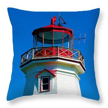 The Guiding Light Throw Pillow by Ron Haist