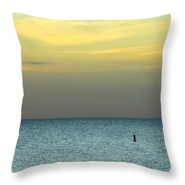 The Gulf Of Mexico Throw Pillow