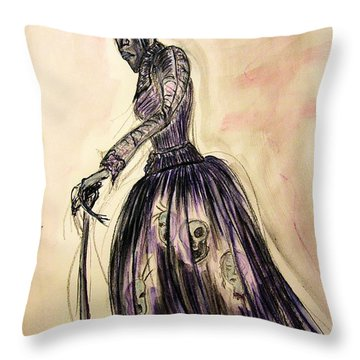 The Hag Throw Pillow by Mimulux patricia no No