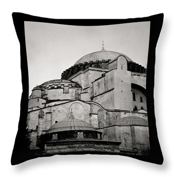 The Hagia Sophia Throw Pillow