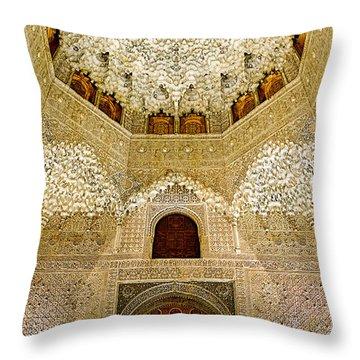 The Hall Of The Arabian Nights 2 Throw Pillow