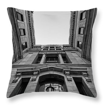 The Hall Throw Pillow
