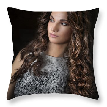 The Hand Of Darkness Throw Pillow