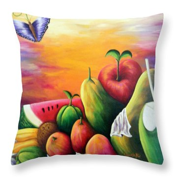 The Harvest 1 Throw Pillow