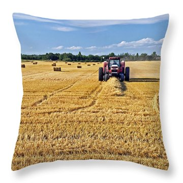 The Harvest Throw Pillow by Keith Armstrong
