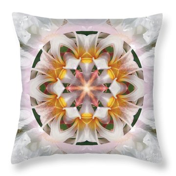 The Heart Knows Throw Pillow