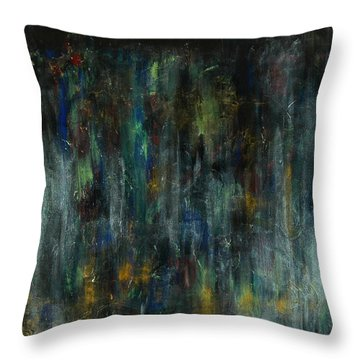 The Heart's Temple Throw Pillow