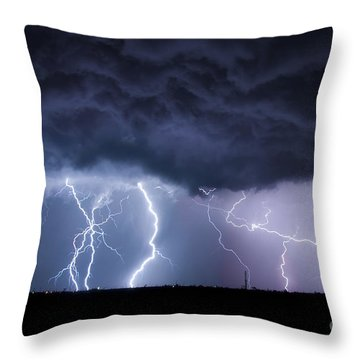 The Heavens And The Earth Throw Pillow