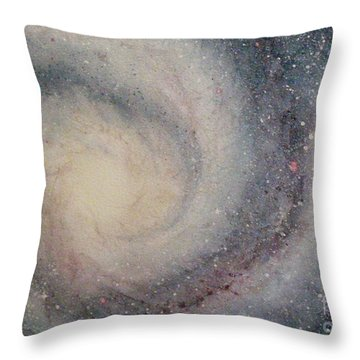 The Heavens Declare Your Glory Throw Pillow