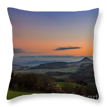 The Hegauview Throw Pillow