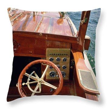 The Helm - Lake Geneva Wisconsin Throw Pillow