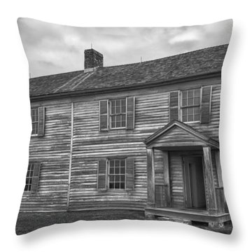 The Henry House Throw Pillow by Guy Whiteley