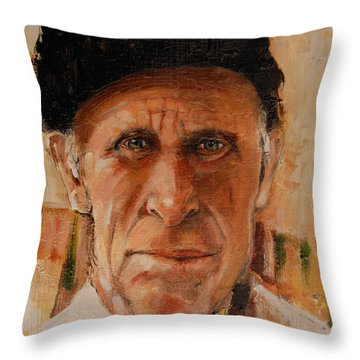 The Gillie Throw Pillow by Jean Cormier