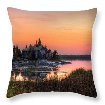 The Hide Away Throw Pillow