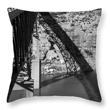 The High Bridge Throw Pillow by Amber Kresge