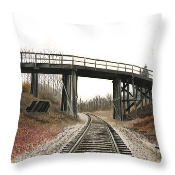 The High Bridge Throw Pillow