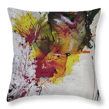 The High Jump Throw Pillow