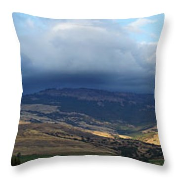 The Hills Of Ashland Throw Pillow