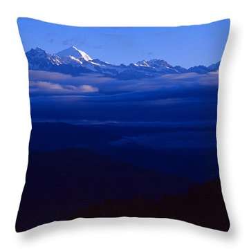 The Himalayas Throw Pillow
