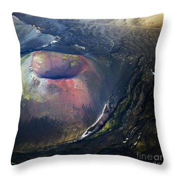 The Hole Throw Pillow by Gunnar Orn Arnason