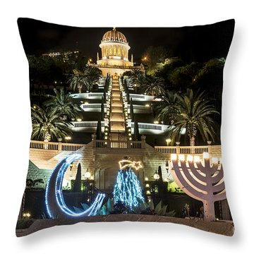 The Holiday Of Holidays Throw Pillow by Arik Baltinester
