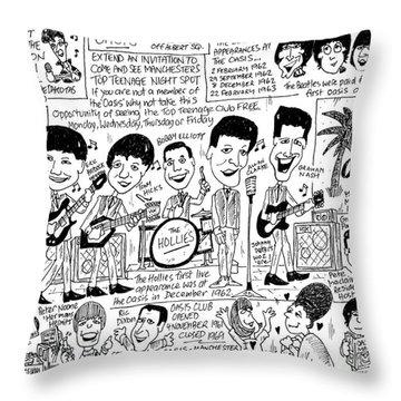 Paul Nash Throw Pillows