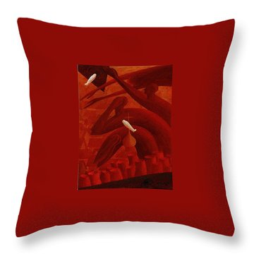 The Holocaust Throw Pillow