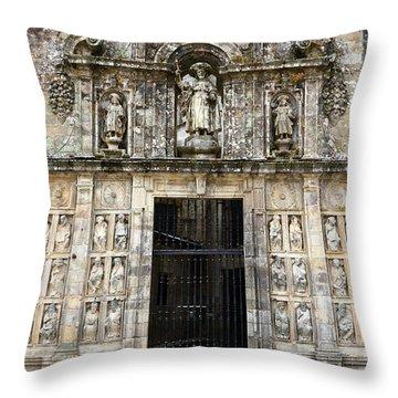 The Holy Door Throw Pillow