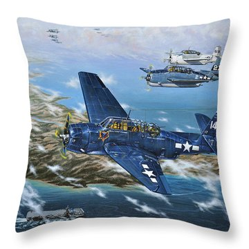 The Homecoming Throw Pillow