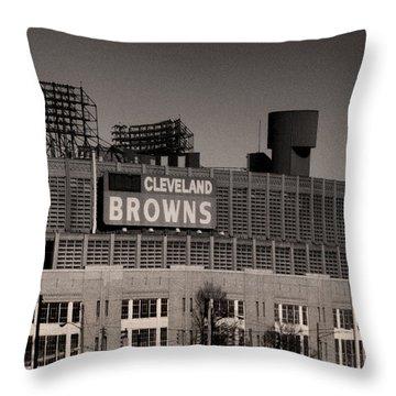 The Hometeams Throw Pillow by Kenneth Krolikowski