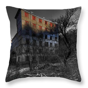 The House Of Mistery 2 Throw Pillow