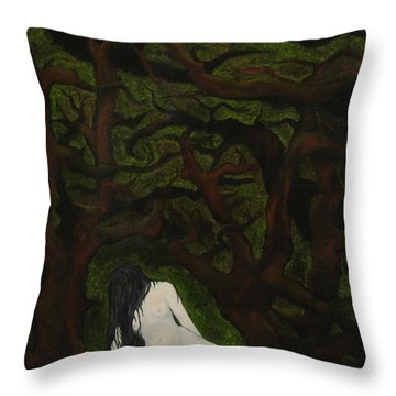 The Hunter Is Gone Throw Pillow