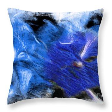 The Images Within Throw Pillow
