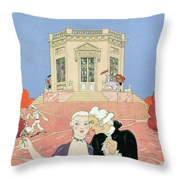 The Indolents Throw Pillow