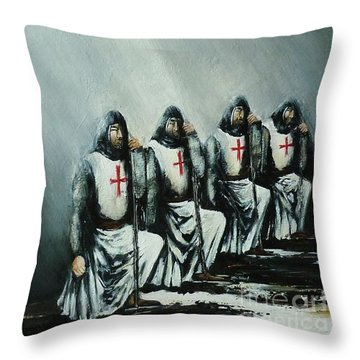 The Initiation Throw Pillow