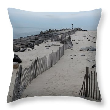 The Inlet Throw Pillow
