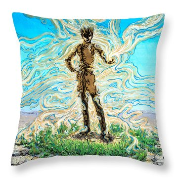 The Innocent One Throw Pillow