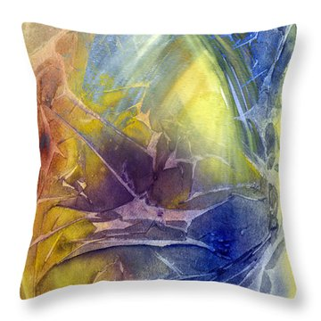 The Ins And Outs Of Thought Throw Pillow
