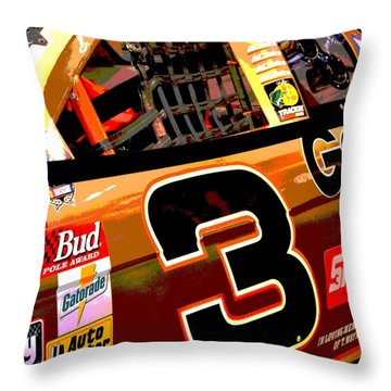 The Intimidator Throw Pillow