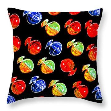 Throw Pillow featuring the digital art The Intruder by Selke Boris