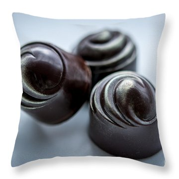The Irish Chocolate - By Sabine Edrissi Throw Pillow