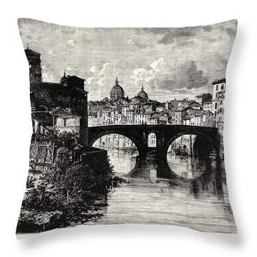 Tiber Island Throw Pillows