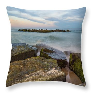 The Island Throw Pillow