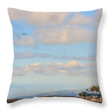 Throw Pillow featuring the photograph The Island Of Oahu by Susan Leonard
