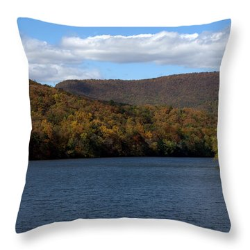 The James At Snowden Throw Pillow
