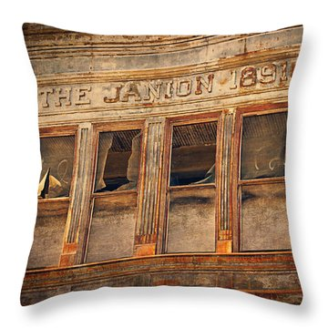 The Janion 1891  Throw Pillow
