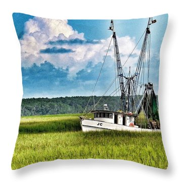 The Jc Coming Home Throw Pillow